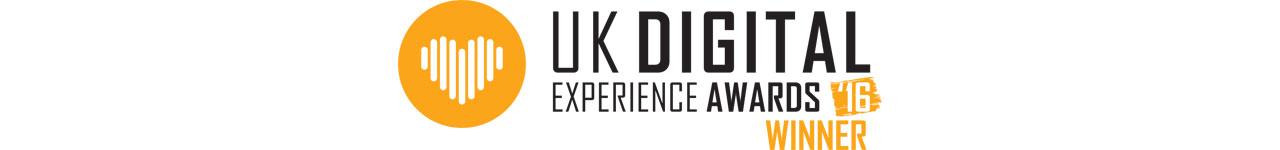 UK Digital Experience Awards Winner